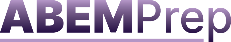Purple ABEM Prep Logo
